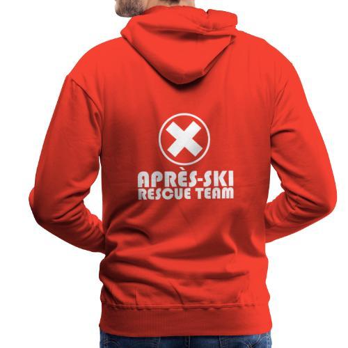 APRÈS SKI RESCUE TEAM 1 - Mannen Premium hoodie