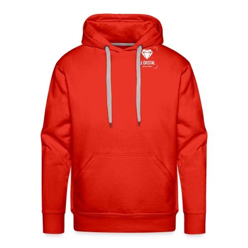 CRISTAL CLUB - Sweat-shirt à capuche Premium pour hommes