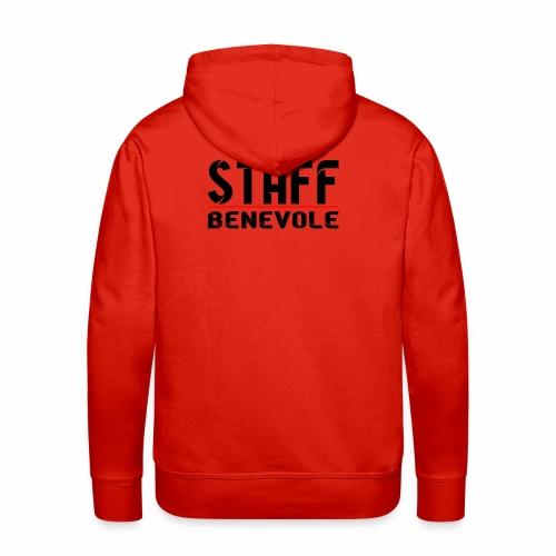 staff benevole - Sweat-shirt à capuche Premium pour hommes