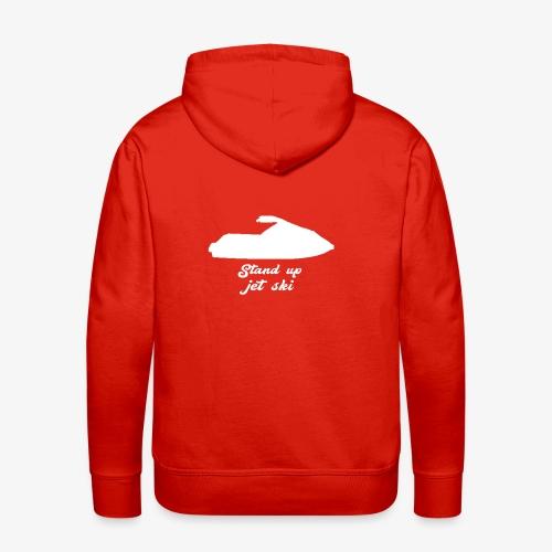Stand Up Jet Ski - Sweat-shirt à capuche Premium pour hommes