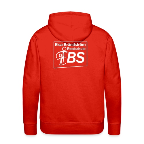 EBS Logo weiss png - Männer Premium Hoodie