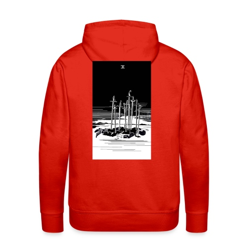 Revenge Capitalism (on color) - Men's Premium Hoodie
