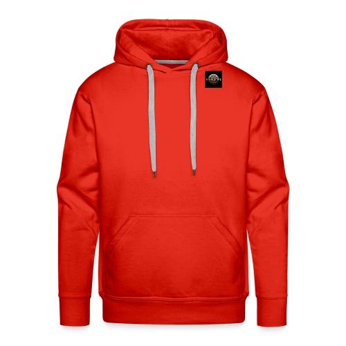 Logo large jpg - Sweat-shirt à capuche Premium pour hommes