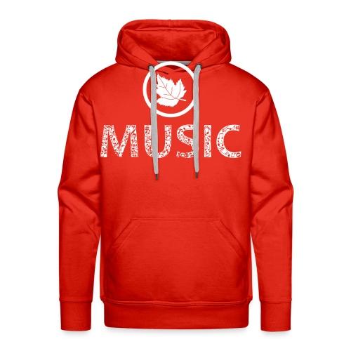 logo bashk music e bardhe - Men's Premium Hoodie