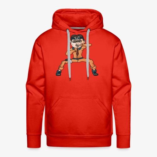 Mélanchon san - Sweat-shirt à capuche Premium pour hommes