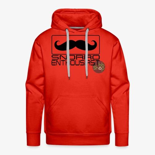 Snorro enthusiastic (black) - Men's Premium Hoodie