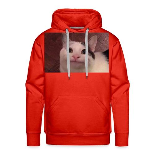 Polite cat - Men's Premium Hoodie
