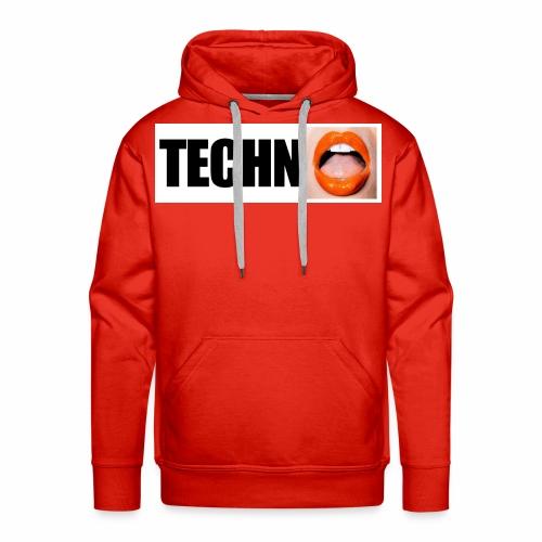 TECHN0 - Sweat-shirt à capuche Premium pour hommes