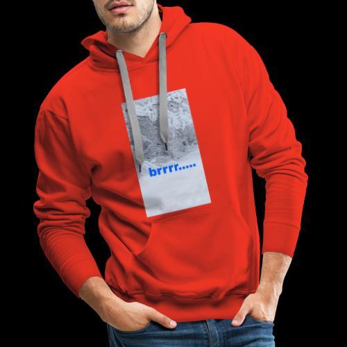 Mooie en fijne sweather - Mannen Premium hoodie