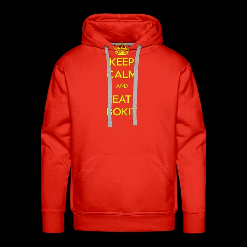 Bokit Keep Calm - Sweat-shirt à capuche Premium pour hommes