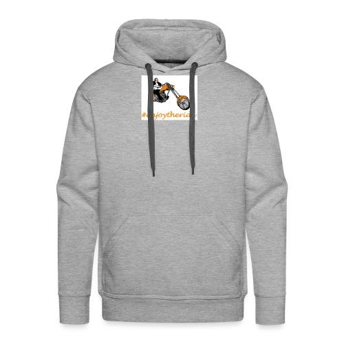 enjoytheride - Sweat-shirt à capuche Premium pour hommes