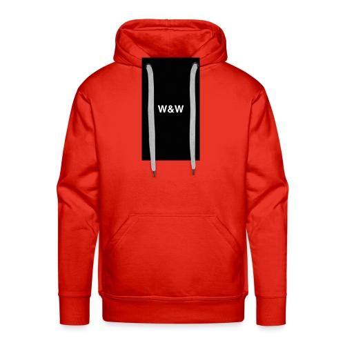 W&W Logo - Men's Premium Hoodie