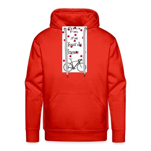 Tourdefrance - Sweat-shirt à capuche Premium pour hommes
