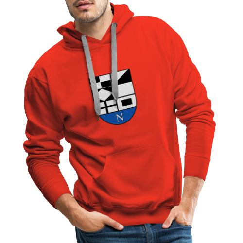 652px Coat of arms of Neringa Lithuania svg - Männer Premium Hoodie