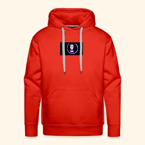 Logo YouTube - Sweat-shirt à capuche Premium pour hommes