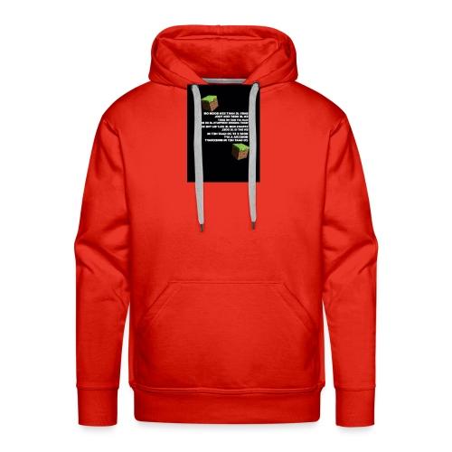 besef - Mannen Premium hoodie