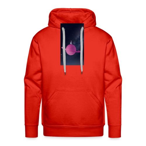 La fille de l'univers - Sweat-shirt à capuche Premium pour hommes