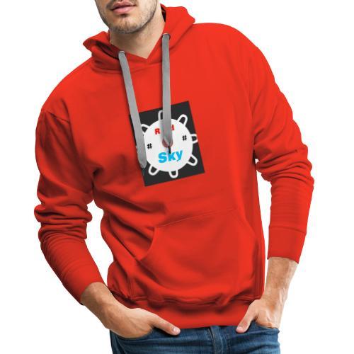 RED SKY logo - Männer Premium Hoodie