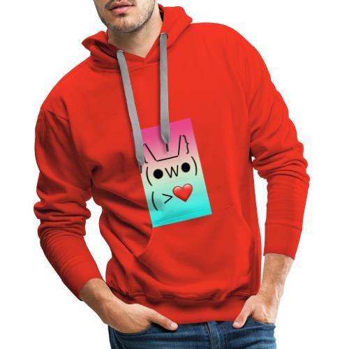 The Sr. Rabbit Amoroso - Sudadera con capucha premium para hombre