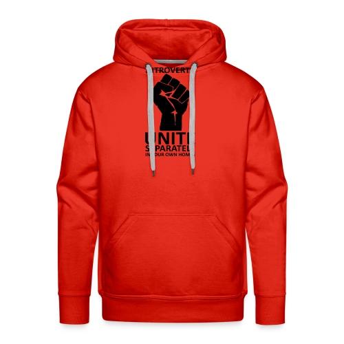 Introverts Unite - Sweat-shirt à capuche Premium pour hommes