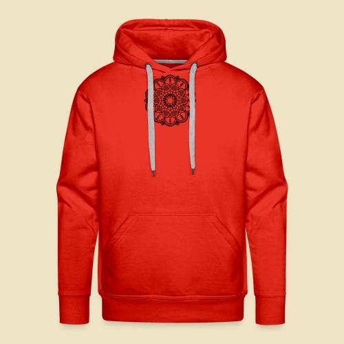 Mandala - Sudadera con capucha premium para hombre