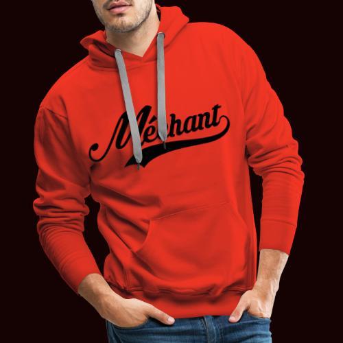 mechant_logo - Sweat-shirt à capuche Premium pour hommes