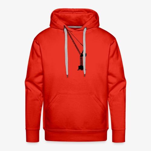 kraan - Mannen Premium hoodie