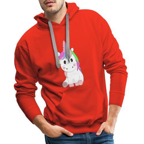 Magic Baby Unicorn - Männer Premium Hoodie