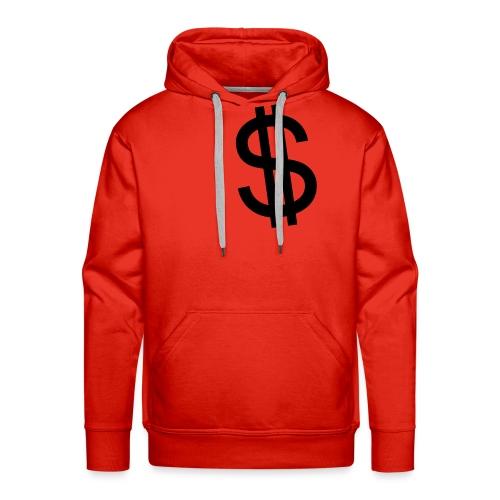 Dollar - Sudadera con capucha premium para hombre