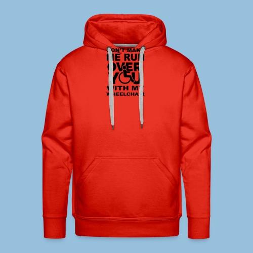Runover1 - Mannen Premium hoodie