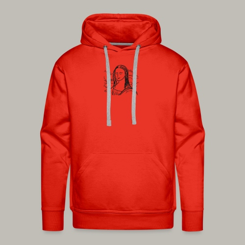 Little piece of Mona Lisa - Sweat-shirt à capuche Premium pour hommes