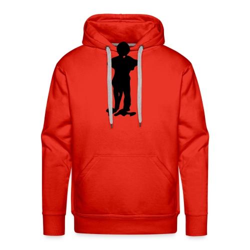 just a man - Sweat-shirt à capuche Premium pour hommes