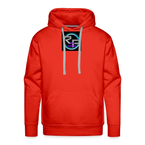 youtube4 logo - Men's Premium Hoodie