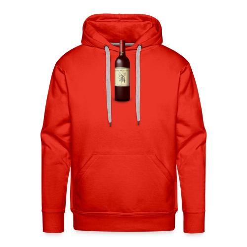 Weinflasche - Männer Premium Hoodie