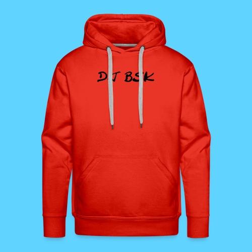 Collection DJ BSK - Sweat-shirt à capuche Premium pour hommes