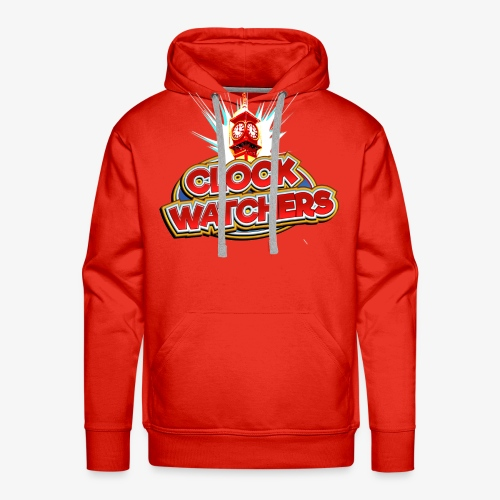 The Clockwatchers logo - Men's Premium Hoodie