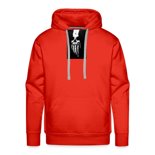skull shirt - Sweat-shirt à capuche Premium pour hommes