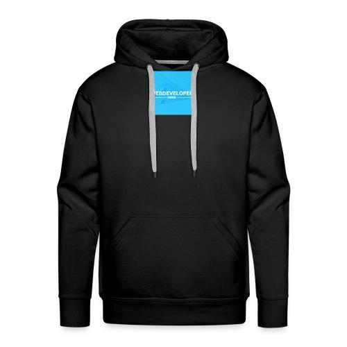 Web developer News - Männer Premium Hoodie