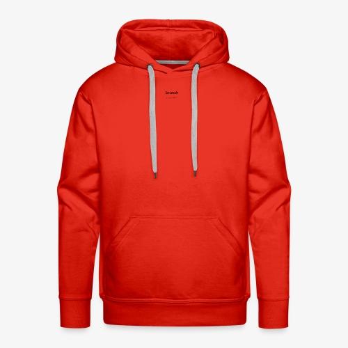 BRUNCH - Sweat-shirt à capuche Premium pour hommes