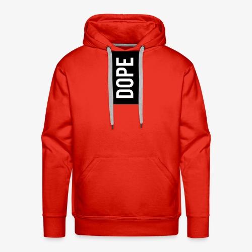 dope letter - Sudadera con capucha premium para hombre