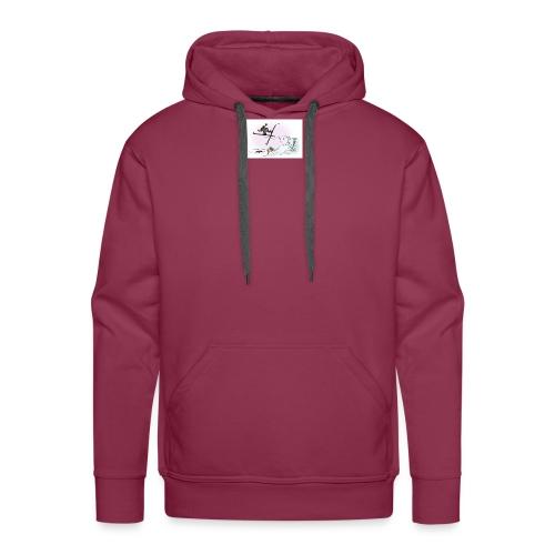 skihopp - Premium hettegenser for menn