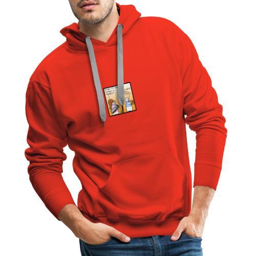 lepreux - Sweat-shirt à capuche Premium pour hommes