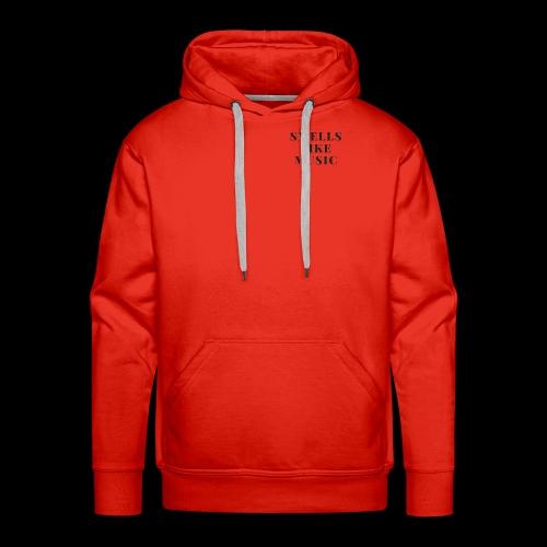 smells like music - Mannen Premium hoodie
