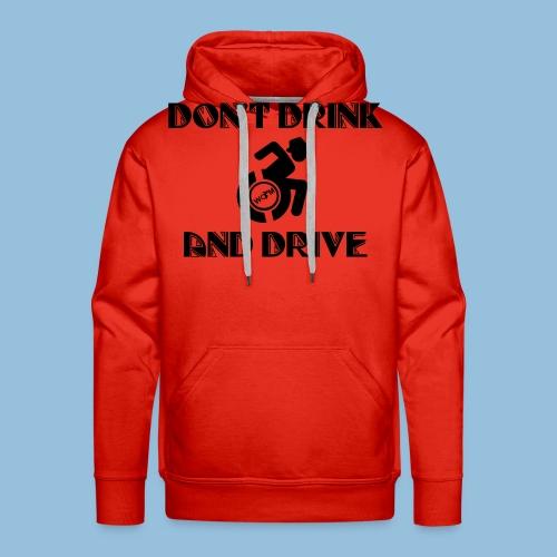 DrinkDrive3 - Mannen Premium hoodie