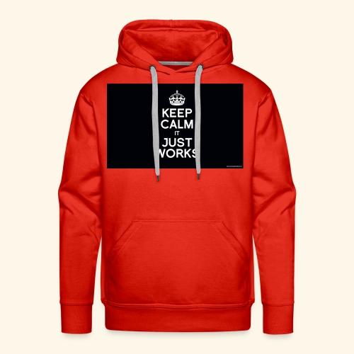 KCIJW - Sweat-shirt à capuche Premium pour hommes