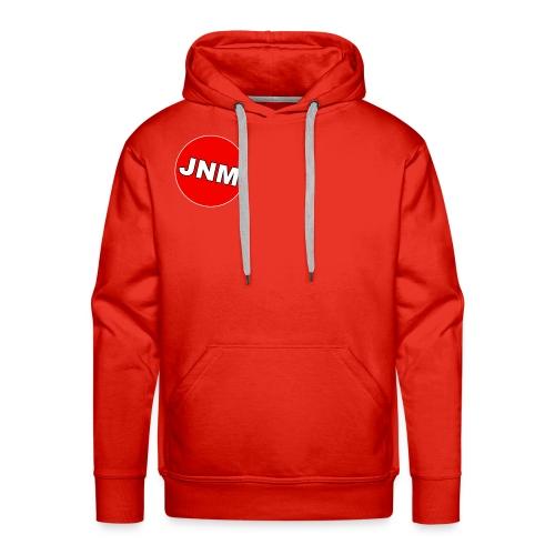 JustNotMe logo design - Mannen Premium hoodie