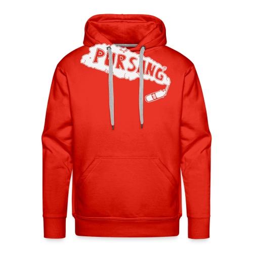 PUR SANG (White) - Mannen Premium hoodie