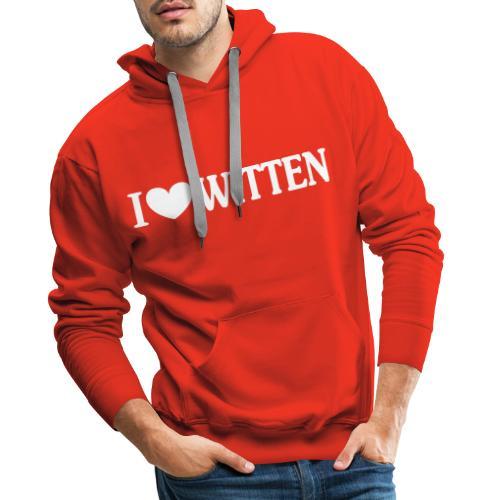 I love Witten - Männer Premium Hoodie