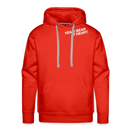 Yeah Bear at Heart #2 - Männer Premium Hoodie