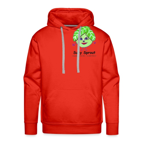 suzy transparant with copyright png - Men's Premium Hoodie
